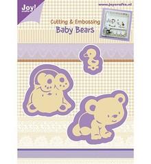 Joy!Crafts und JM Creation Punching and Prägeschabloen, Baby Bear