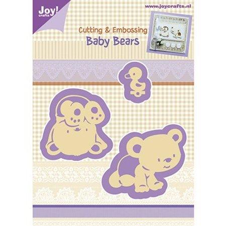 Joy!Crafts und JM Creation Stanz- und Prägeschabloen, Baby Bären
