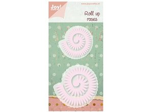 Joy!Crafts und JM Creation Joy Crafts, stamping and embossing stencils Roll up Roses
