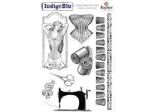 IndigoBlu Stempel A5: Syning befaler sjælen, 200x140mm