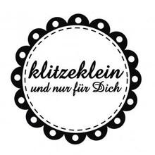 """Stempel / Stamp: Holz / Wood mini bollo Holze con testo tedesco """"minuscola e solo per te"""", di diametro tre centimetri"""