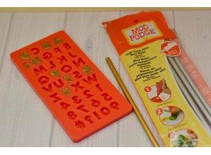 ModPodge Mod Podge, stampo in silicone di lettere e numeri