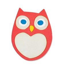 Sizzix Stampaggio e goffratura stencil, ThinLits - Little Owl