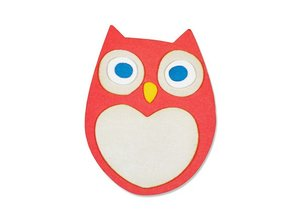 Sizzix Stamping and embossing stencil, ThinLits - Little Owl