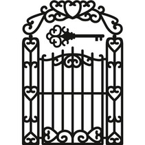 Stanz- und Prägeschablonen, Craftables - Garden Gate