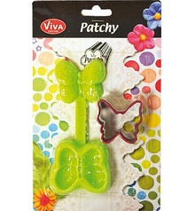 PATCHY Delvis butterfly med 1 slag