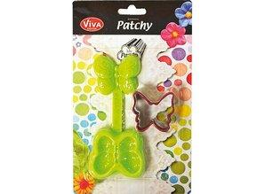 PATCHY Delvis butterfly med 1 slag