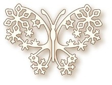 X-Cut / Docrafts NEW: Metal cutting dies, wild rose Studio`s the Specialty - Butterfly