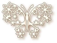 X-Cut / Docrafts NUOVO: Taglio del metallo muore, rosa selvatica Studio`s la Specialità - Butterfly