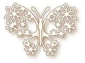 X-Cut / Docrafts NEW: Metal cutting dies, Wild Rose Specialty Studio`s the Butterfly