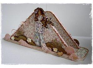 Objekten zum Dekorieren / objects for decorating Let's get Bizzee napkin holder
