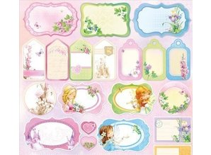 Wild Rose Studio`s Designer paper, Dreamland Cards and Labels