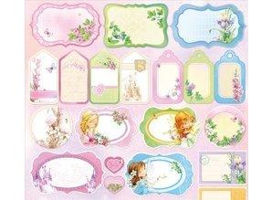 Wild Rose Studio`s Designerpapier, Dream Land Cards and Labels
