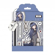 Gorjuss / Santoro Urban stamp, 8 parts, Santoro Gorjuss, alice
