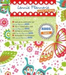Textil Lennie Flennerie, panno 50x70cm, farfalle