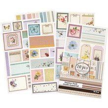DECOUPAGE AND ACCESSOIRES Self Decoupagesticker Satin papir