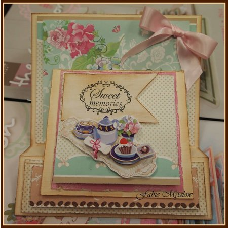 Marianne Design Designer Paperblock A5, Café la Patisserie von Marianne Design