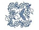 Tattered Lace Skæreskabelon Die, filigrane Sommerfugle Frame