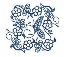 Tattered Lace Stanzschablone, filigräne Schmetterlinge Rahmen