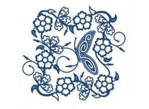Tattered Lace Bigz Die, filigrane farfalle Cornice