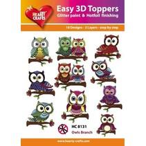 Easy 3D Design, Ugle, 10 3D-design i en pakke!