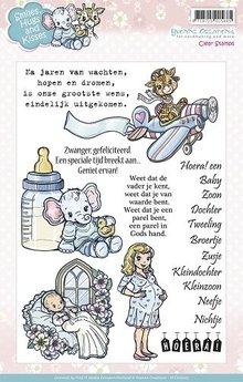 Stempel / Stamp: Transparent Timbri trasparenti, motivi carino bambino