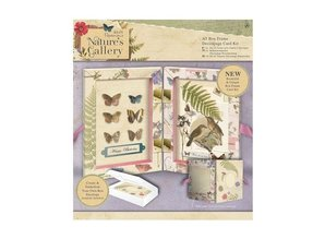 Docrafts / Papermania / Urban A5 Decoupage Card Kit Box Frame - Naturens Gallery
