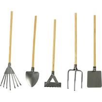 herramientas de jardín Mini, L: 11 cm, por 5