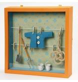 Embellishments / Verzierungen Mini haveredskaber, L: 11 cm, med 5
