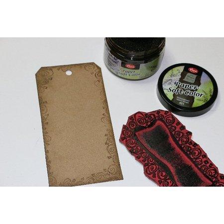 FARBE / INK / CHALKS ... Papel de color suave, Walnut Brown, 75 ml