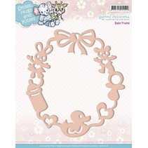 Embossing and cutting mat, baby frame