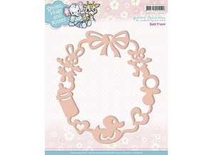 Yvonne Creations Embossing and cutting mat, baby frame