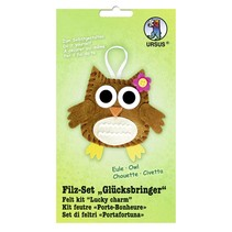 "Filt Craft Kit ""heldig charme"" ugle"