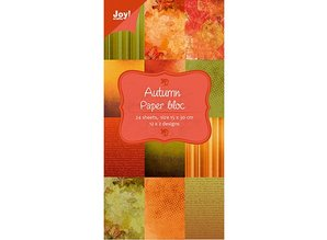 Joy!Crafts und JM Creation Designerblock von Joy Crafts, 15x30cm - Autumn