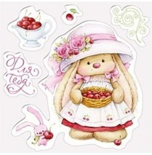 Stempel / Stamp: Transparent Transparent stamps, Cherry Rabbit