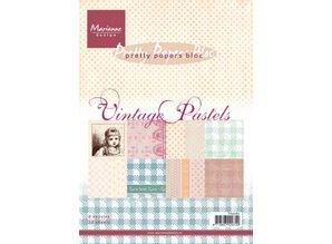 DESIGNER BLÖCKE  / DESIGNER PAPER Pad af papir, A5, Vintage Pastels