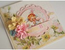 Designer Papier Scrapbooking: 30,5 x 30,5 cm Papier Hej Baby Nr08, designer papir, 30,5 x 30,5 cm