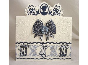 TONIC NEW with us: Cameo Silhouette cutting and embossing stencil of Tonic!