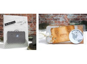 Spellbinders und Rayher Punch - og prægning stencil, Shapeabilitie Inspire, Cases