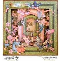 Graphic 45, Once Upon A Springtime, 30,5 x 30,5cm, Deluxe Collectors Edition