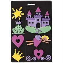Kinder Bastelsets / Kids Craft Kits Skumgummi stempel sæt, prinsesse, for børn