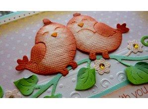 Cottage Cutz Stampaggio e goffratura stencil, innamorato Inseparabili (4x4)