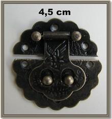 Embellishments / Verzierungen Nostalgic Scrapbook clasp, 1 piece 4.5cm