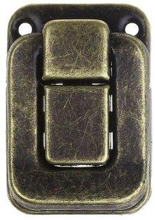 Embellishments / Verzierungen Serrature Scrapbook, 2 pezzi, 4 x 2,8 centimetri
