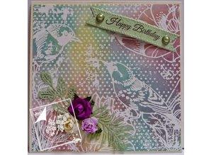 Joy!Crafts und JM Creation Glace paper, A4 2x8 designs