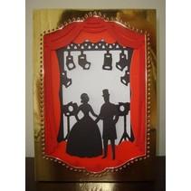 XCut A5, Skæreskabelon Die Set, image design: teater
