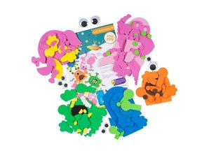 Kinder Bastelsets / Kids Craft Kits Bastelpackung: Kreiere Dein Eigenes, Craft Planet Monster