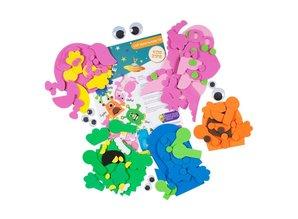 Kinder Bastelsets / Kids Craft Kits Bastelpackung: Skab dit eget, Craft Planet Monster