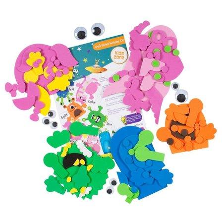 Kinder Bastelsets / Kids Craft Kits Bastelpackung: Crea tu propio, Artesanía Planet Monster