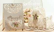 Spellbinders und Rayher Punch - and embossing stencil SET, Shapeabilities Arched Elegance